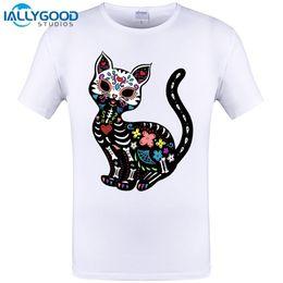 bc1787156c17 Summer Naughty Black Cat 3D T Shirt Men Lovely Cartoon Shirt Good Quality  Comfortable Brand Casual Tops