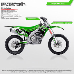 Wholesale F 13 - 3M vinyl wrap decals for motorcycle KX KLX KXF F 85 100 250 450 cc 2004 05 06 07 08 09 10 11 12 13 14 15 2016 year