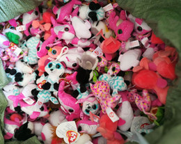 Wholesale Stuffed Green Turtle - 10pcsTy Beanie Boos Plush Toys PhoneKeychains Babies Camouflage Owl Pink Dolphin Turtle Penguin Green Dragon Stuffed Animals Soft Baby Dolls