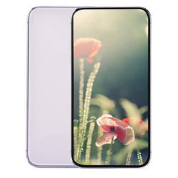 2019 carta max 6,5 pollici di schermo Tutti Goophone 11 Pro Max V3 XI Max Face ID Wireless carica Quad Core 1GB 16GB + 32GB dual Nano Sim Card 13 MP fotocamera dello smartphone carta max economici