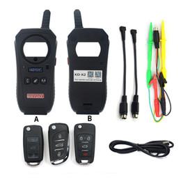 Wholesale gm door - KEYDIY KD-X2 Car Key Garage Door Remote kd x2 Generater Chip Reader Frequency Tester Access Card Copier