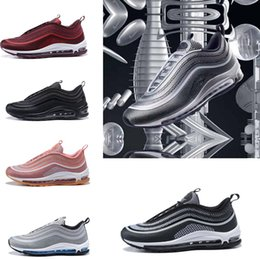Wholesale Sport Wear Shoes Casual - 2017 New Undefeated X Off 97 Ultra silver bullet men and women casual sports wear air cushion running shoes 918356-001 size 36-46
