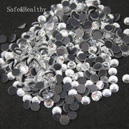 Argentina Crystal Clear Hotfix Flatback DMC Material de los granos de cristal Transferencia de calor cristalino Hot Rhinestones del arreglo para el vestido de boda y la ropa cheap clear wedding dresses Suministro