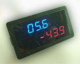 Argentina Envío gratuito DC 200V +/- 50A Digital LED Voltímetro Amperímetro Monitor de descarga de carga Panel solar Batería 12v 24v Probador de corriente de voltaje Suministro