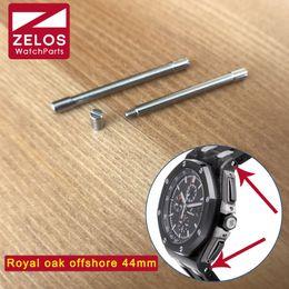 Wholesale Ap Royal - watch Screw tube For AP ROO royal-oak-offshore 44mm Schumacher watch case link kit rod screwbar 26400 26568 parts
