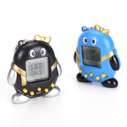 Wholesale Penguin Kids Games - 1PC Multicolor Electronic Game Machine Virtual Pets In One Penguin Digital Pet Toy Kids Baby Gift Toys Random Color