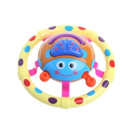 Wholesale Ladybug Lights - Wholesale-2017 Cute Baby Toys With Sound And Light Ladybug Musical Children Gift For Kids APR29_17