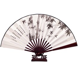 Wholesale bamboo silk sheets - More style Handcraft Silk Chinese Antique Fan wedding party gift bamboo smooth popular fan wholesale price