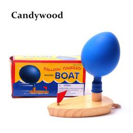 Banyoda bebek banyo Oyuncakları Balon Güç Tekne oyuncaklar Klasik Komik Oyun Ahşap Banyo Hediye cheap toy wooden boat nereden oyuncak ahşap tekne tedarikçiler