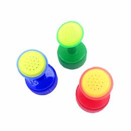 Wholesale wholesale mist nozzles - 8 PCS Bottle Cap Sprinkler PVC Plastic Watering GB 28mm caliber Little Nozzle Sprinkler Head Watering Vegetables Mist Nozzle