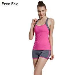 Wholesale Bras Skirts Set - 2017 The Hot Yoga Set Women's Sports Bra Sexy Push Up Skirt Pants Gym Breathable Fitness Clothes Workout Sport