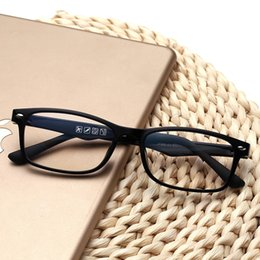 Wholesale Plastic Temples - Best sell fashion New Frame Optical Glasses Frame Plastic Eyeglasses Black Frame Colorful Temples Without Lens Cheap Eyeglasses