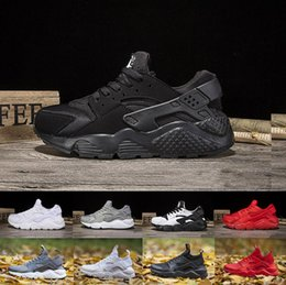 Wholesale Air Suppliers - baby run Air Huarache 4 IV 1 Ultra boost Classical all red Black Mens Women's Sneakers Running Huarache 4.0 shoe factory supplier
