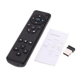 receptor do controlador remoto rf Desconto Universal TV Controle Remoto MX5 RF IR Controle Remoto Sem Fio Para Android Caixa de TV PC MAC OS com Adaptador Receptor USB 2.0