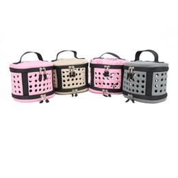 Jaulas de ratas online-Mini Animal Pig Hamster Pet Carrier Bag Pequeña pequeña bolsa de transporte Bolsas de viaje cálido hogar para pequeños conejos Ratas Portadores plegable 15yb gg