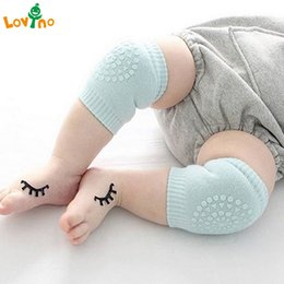 knee pads for crawling protectors Promo Codes - Baby Anti Slip Knee Pads Cotton Baby Socks For Newborns Safety Crawling Elbow Cushion Knee Protector Leg Warmers hot sale