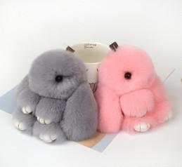 Wholesale Wholesale Cloths China - Cartoon cute mini rabbit cute rabbit car pendant creative gift