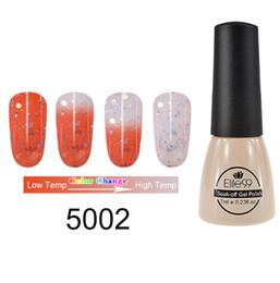 2019 stimmungsfarbe nagel Elite99 7ml Thermal Thermo Mood Farbwechsel Nagellack Tränken UV-LED Chamäleon Temperaturänderung Gel Lack Lack günstig stimmungsfarbe nagel