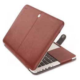 Wholesale Laptop Hard Shell Covers - 21 inch leather hard cover custom laptop case hard shell laptop case