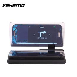 2019 imagens de carros Cabeça do VEHEMO acima do suporte do projetor do refletor da imagem de GPS do telefone móvel do carro auto HUD imagens de carros barato