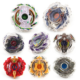 Wholesale new beyblade sets - New Metal Fusion 4D Launcher Constellation Beyblade Burst Set Spinning Top Fighting Gyro Game Toys For Children Gift