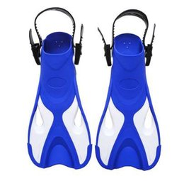 bd23243a5f3 TREE BETTER Swimming fins boy girl Adjustable Foot flippers Submersible  Silicone Open heel Snorkeling Kids Beginner Diving shoes
