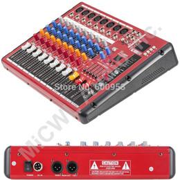 Professionelle Audiogeräte Unterhaltungselektronik Audio Mixer Mit Usb 4 Kanal F7 Mixer Home Audio Konsole Dj Ausrüstung 48 V Phantomspeisung Mit Bluetooth Bühne Ausrüstung GroßE Sorten