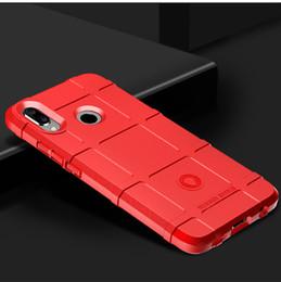 Bolsa lite online-Para Huawei P20 Mate20 Lite Pro Plus Nova3 Nova3i Nova3E P Smart + Protector resistente a los golpes Protector de la carcasa del teléfono TPU de la armadura de TPU