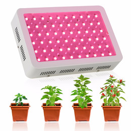 лучшее освещение полного спектра Скидка Best Full Spectrum 300W/60X5W led grow light for personal hydroponics indoor greenhouse Grow Tent box plant growth LED Lamp