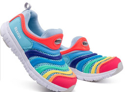 Zapatos de bebe talla 2.5 online-NUEVO2017 Calzado para niños Tamaño Eur 26-35 Dynamo Free Big Kids Baby Shoes, Colors 11-20, Fit Boys + Girls, Slip-on Kids Running Shoes Calzado deportivo