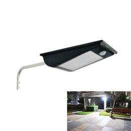 Wholesale High Security - High Quality Power Outdoor IP65 1000 Lumens 81 Leds integrated solar street light Motion Sensor Solar Lamps Outdoor Security Lamp
