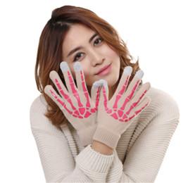 Сенсорные перчатки для женщин онлайн-winter gloves women warm winter gloves women touchscreen men knitted guantes tacticos militar femme hiver #4O29