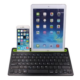 2019 tabletas frias Venta caliente 2017 Hillsionly New fashion cool New Slim Bluetooth Multi-Device Keyboard Para Computadoras. Tablets y Smartphones tabletas frias baratos