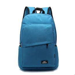 Wholesale College Korean Backpack - Wholesale- 2016 Unisex Canvas Backpack College Student School Backpack Bags for Teenagers Casual Korean Rucksack Travel Daypack School Bags