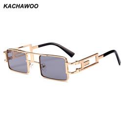 f34f116632e Glasses Steampunk Woman For Sale - Kachawoo wholesale 6pcs retro steampunk  sunglasses men rectangle gold metal
