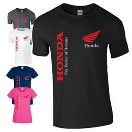 motogp t shirts Sconti T-Shirt da motociclista Honda The Power of Dreams MotoGP Motociclismo da uomo