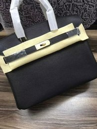 Wholesale classical strings - European classical style luxury fashion lady bag shoulder bag handbag made of leather fashion soft solid platinum package party package