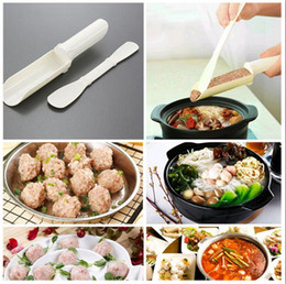 Wholesale wholesale meatballs - Meatball Maker Pattie Burger Gadgets DIY Convenient Easy To Use Essential Home Kitchen Cooking Tools OOA4263