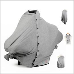 assento de carro confortável Desconto Nova 75X100 CM Mãe Enfermagem Cobertura de Dossel Maternidade Assento de Carro Do Bebê Avental Avental Amamentação Xale Super Confortável Toalha 7 cores