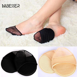 NIBESSER NewWomen Peds Liners Ropa de mujer Accesorios Black Flesh Color Transpirable Soft Invisible Peds Liners Female Shoe desde fabricantes
