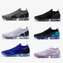 Discount spring soccer - Vapormax 2.0 Men Running Shoes For Women Sneakers Mens Trainers vapormax 2 Designer Shoes Vapor Human Race Sports Boost 2018
