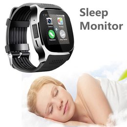 Wholesale Blackberry Kids - For Android New T8 Bluetooth Smart Pedometer Watches Support SIM &TF Card With Camera Sync Call Message Men Women Smartwatch Watch