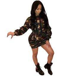 Sexy Club Wear Dress per Party Camouflage Ladies Clothing Lino Cotone Women Mini Dress Allentato O Collo Women Gown Hippie Clothing Dress Female da