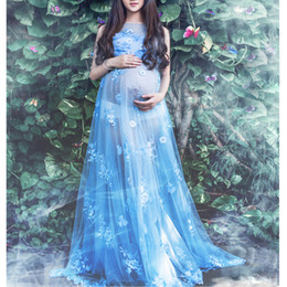 02988094a61a5 Maternity Lace Dress for Photo Shoot Pregnancy Photography Long Mermaid  Lace Dress Pregnant Women Gown Baby Showers foto Clothes inexpensive  mermaid baby ...