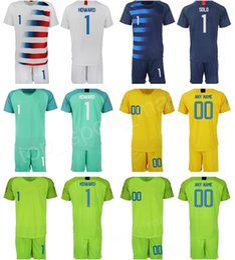 df7cc2aff67dc Portero Camiseta de fútbol GK 1 Tim Howard Bill Hamid Zack Steffen Hope  Solo STADIUM Blanco azul marino