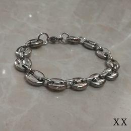 Fascino di uscita online-Monili di modo dell'acciaio inossidabile del braccialetto di incanto del chicco di caffè Bei regali fatti a mano! Prese di fabbrica, accetta all'ingrosso personalizzato personalizzato.