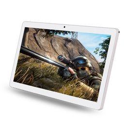 Tastiera di tavoletta gps online-I900 New Metal shell tablet pc 10.1 pollici IPS GPS WiFi Phone 3G Chiamare Android 7.0 Quad Core Android Tablet tastiera da 4 GB 128 GB