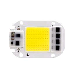 2019 driver di illuminazione led ic LED COB Chip 50 W 30 W 20 W 110 V 220 V Intelligente IC Nessun bisogno Driver Input Chip Ad Alta Lumen Per FAI DA TE LED Proiettore Spotlight Perle di Luce driver di illuminazione led ic economici