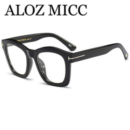 81959de411 ALOZ MICC Fashion EleWomen Square Glasses Frame Designer Men Optical Frames  High Quality Lady Style Eyeglass Q297 ladies optical frames promotion