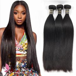 Argentina Tratamientos de cabello lacio y sedoso 100% virgen humana Remy Hair Mejor barato brasileño Peruvian Malaysian Weave bundles Pelo al por mayor sin enredo Suministro